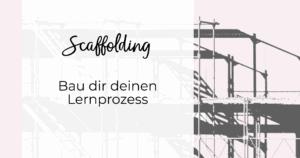 Scaffolding Titelbild mit Baugeruest