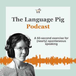 60 second exercise for nearly spontaneous speaking podcast preview