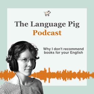 why I don't recommend books for your english podcast preview